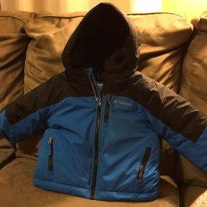 Little Boy Columbia Winter Jacket